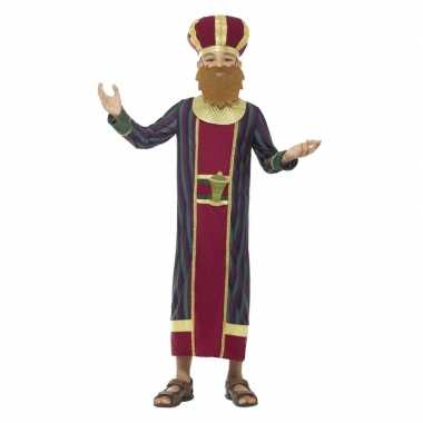 Koning balthazar kostuum kinderen 3 koningen kerst kostuum