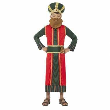 Koning caspar kostuum kinderen 3 koningen kerst kostuum