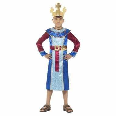 Koning melchior kostuum kinderen 3 koningen kerst kostuum