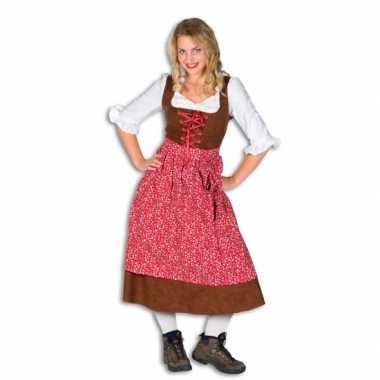 Lange tiroler kostuum dames