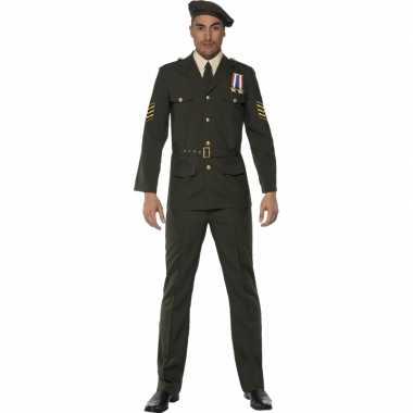 Leger officier kostuum heren
