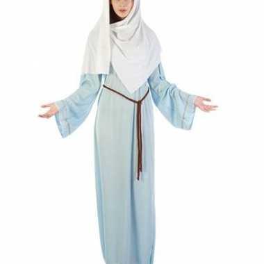 Maagd maria kerst kostuum dames