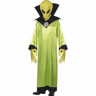 Marsmannetjes kostuum groen