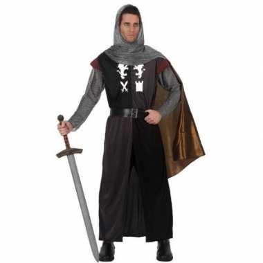 Middeleeuws ridder verkleed kostuum heren