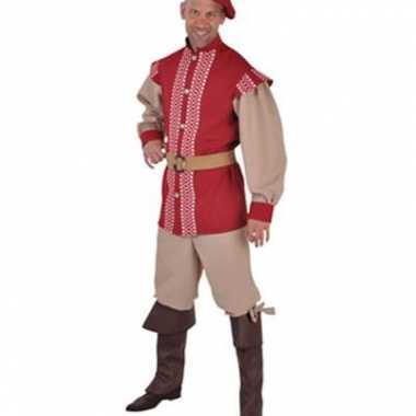 Middeleeuwse heren kostuum