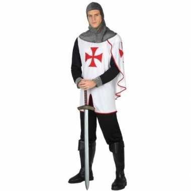 Middeleeuwse kruistocht ridder verkleed kostuum heren