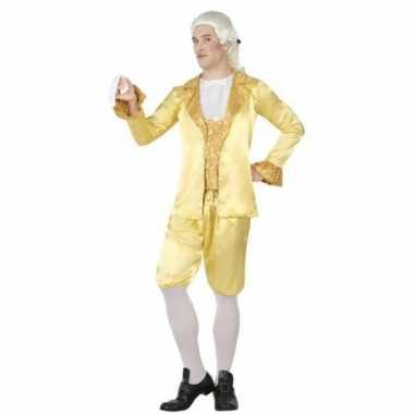 Middeleeuwse lakei verkleed kostuum heren