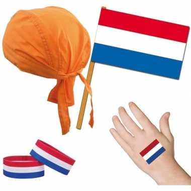 Nederland/holland thema verkleed kostuum volwassenen