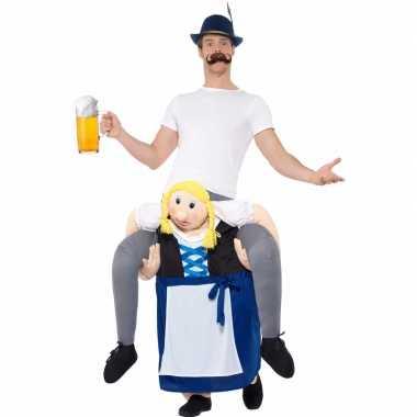 Oktoberfest verkleedkostuum man bayerische dames