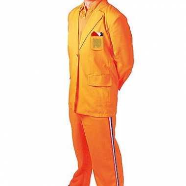 Oranje kostuum Bobo