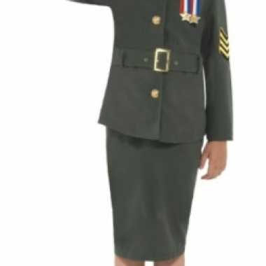 Ouderwets leger kostuum kinderen