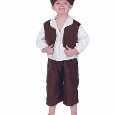 Ouderwets straatjongetjes kostuum