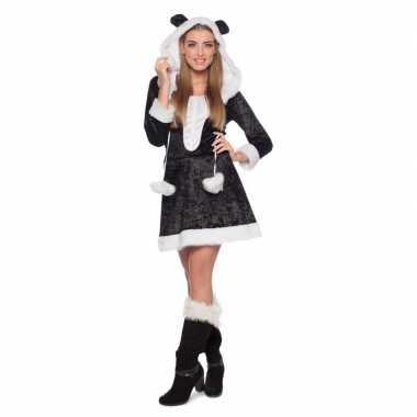 Panda dierenkostuum jurkje dames