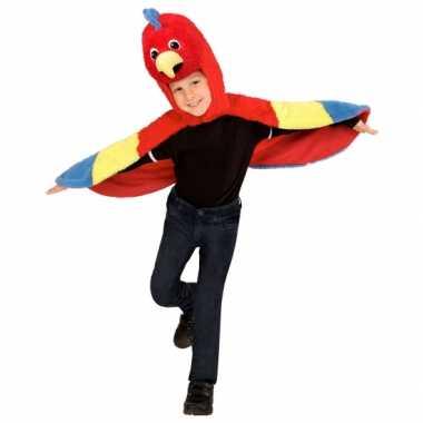 Papegaai kostuum peuters