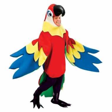 Papegaai kostuum volwassenen