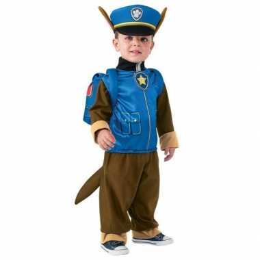 Paw patrol kostuum chase kinderen