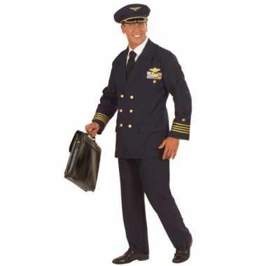 Piloot kostuum heren/heren
