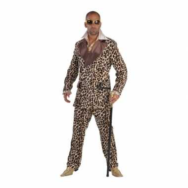 Pimp kostuum luipaard