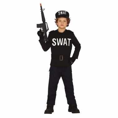 Politie/swat verkleed kostuum kinderen/kinderen