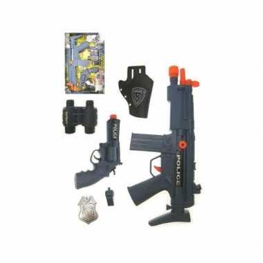 Politie verkleed accessoires kostuum incl. wapens
