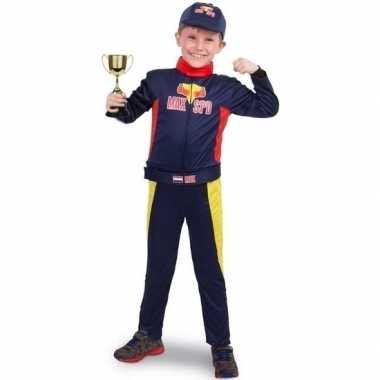 Race/formule 1 kostuum beker kinderen