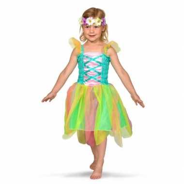 Regenboog fee kostuum kinderen