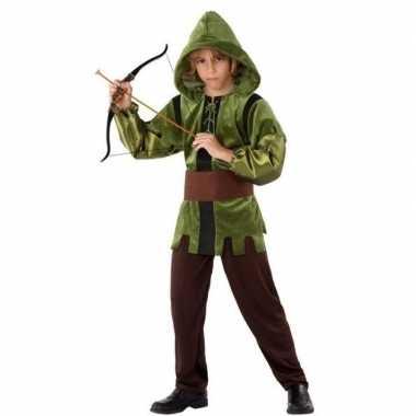 Robin hood verkleed kostuum 3 delig kinderen