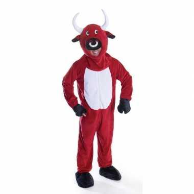Rode stier kostuum volwassenen