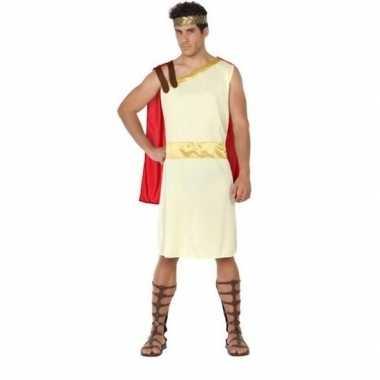 Romeinse/griekse heer agis verkleed kostuum heren