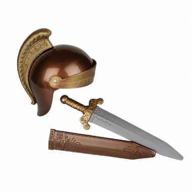 Romeinse ridder verkleed kostuum kinderen