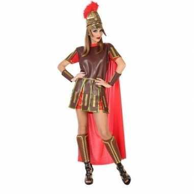 Romeinse soldaat/gladiator felicia kostuum/jurk dames