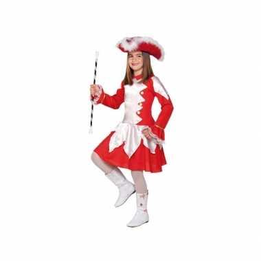 Rood cheerleader kostuum kinderen