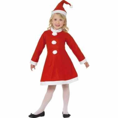Rood kerst kostuum kinderen