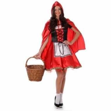 Roodkapje kostuum cape