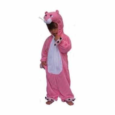 Roze panter kostuum kinderen