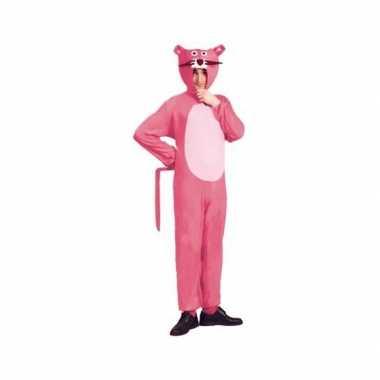 Roze panter kostuum volwassenen