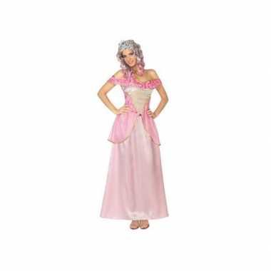 Roze prinsessen kostuum