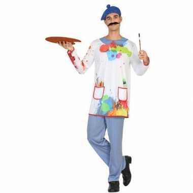 Schilder verkleed pak/kostuum heren