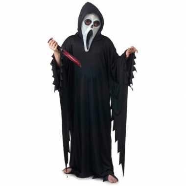 Scream verkleed kostuum kinderen