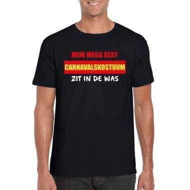 Sexy carnavalskostuum zit was heren t shirt zwart