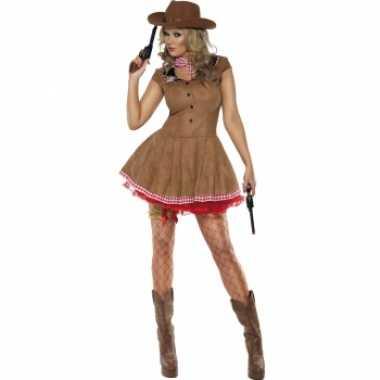 Sexy cowgirl kostuum dames