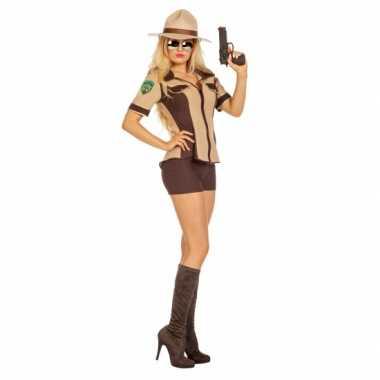 Sexy sheriff kostuum dames