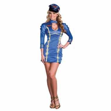 Sexy stewardess kostuum licht