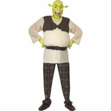 Shrek kostuum heren