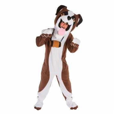 Sint bernard honden kostuum volwassenen