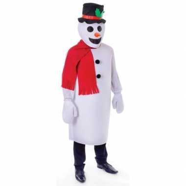 Sneeuw man kostuum