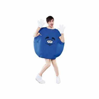 Snoep kostuum blauw