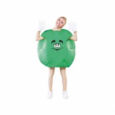 Snoep kostuum groen