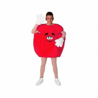 Snoep kostuum rood