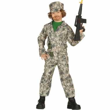 Soldaat verkleed kostuum kinderen